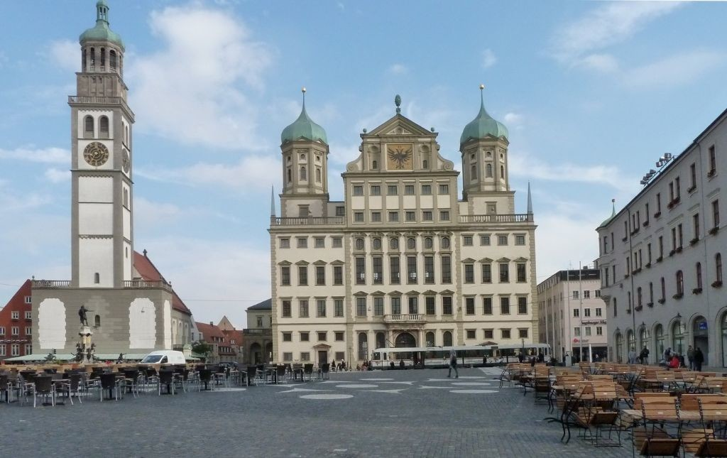 Rathaus mit Perlachturm